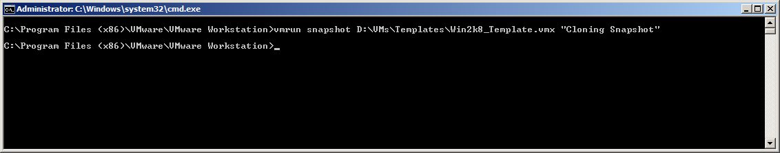 Create a VM template with VMWare Workstation 8 – doOdzZZ'sNotes