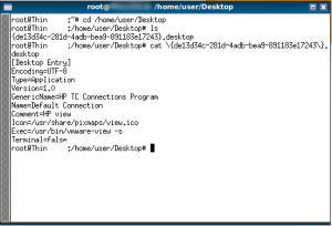 HP t140 AIO Connection Manager and VMware Horizon View
