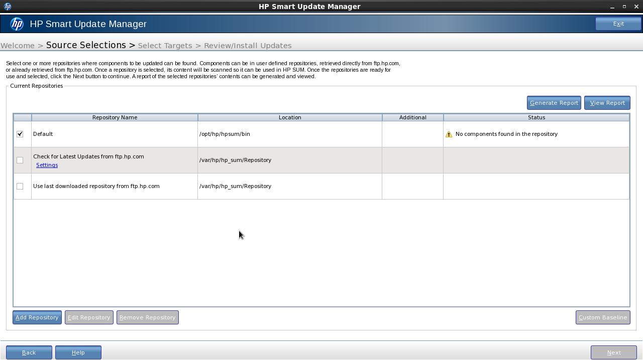 Hp hewlett packard hp smart update firmware dvd server and options.