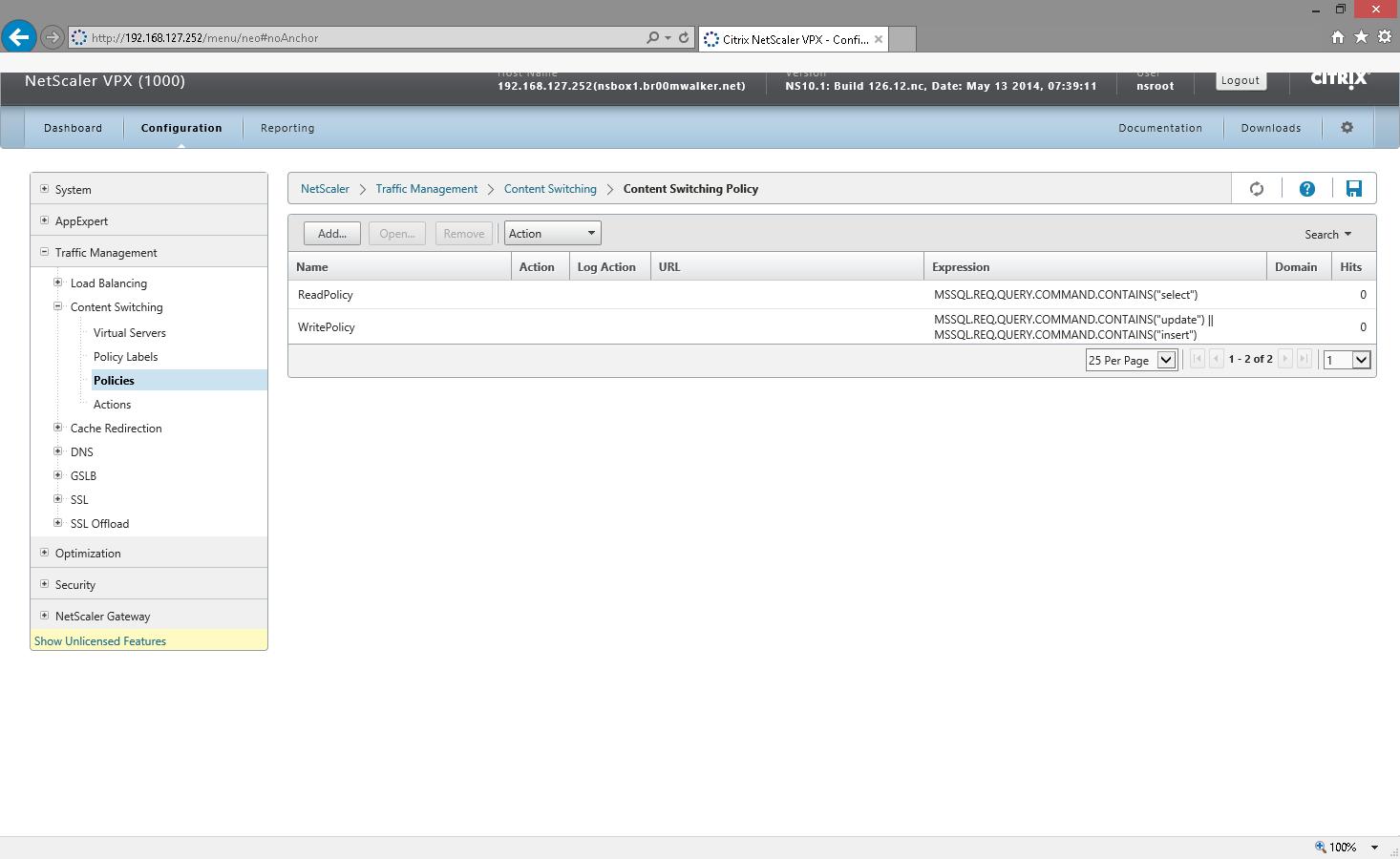 Load Balancing Microsoft SQL Server 2012 AlwaysON Databases