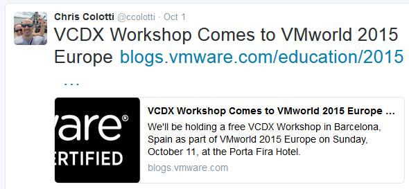 VCDX1